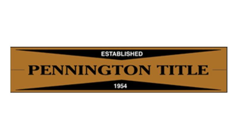 Pennington Title Logo