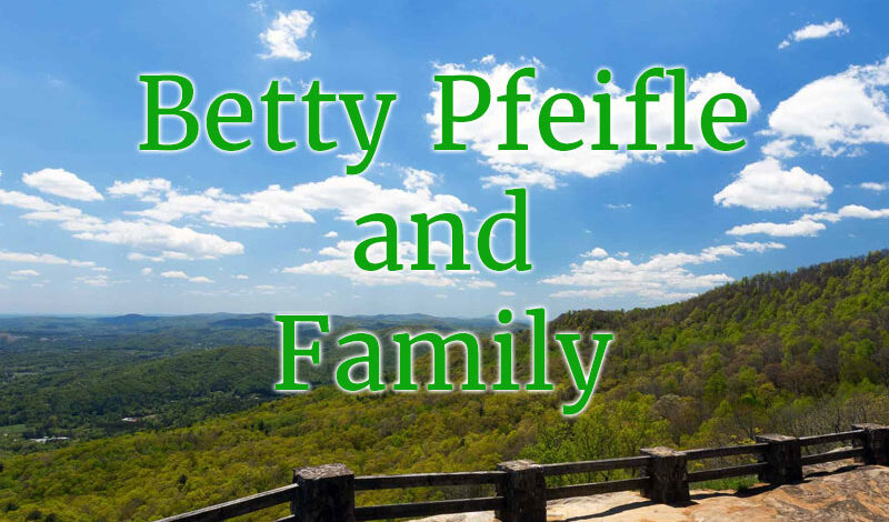 betty pfeifle and family