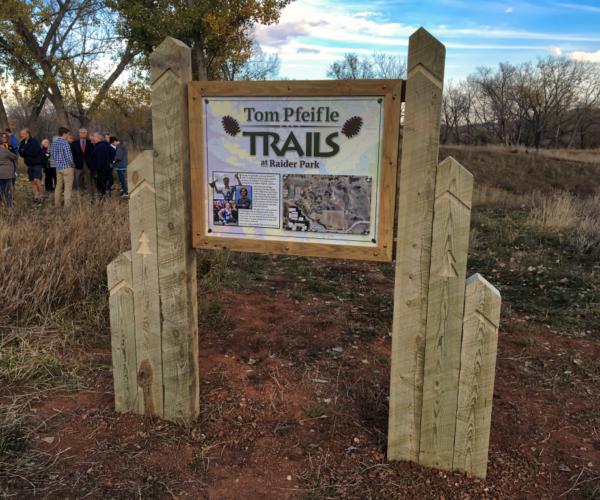 tom pfeifle trails at raider park