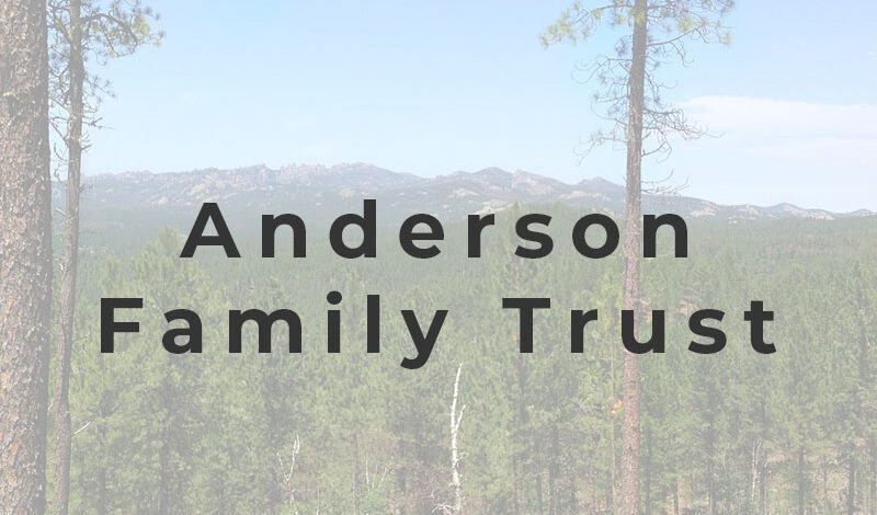 anderson family trust