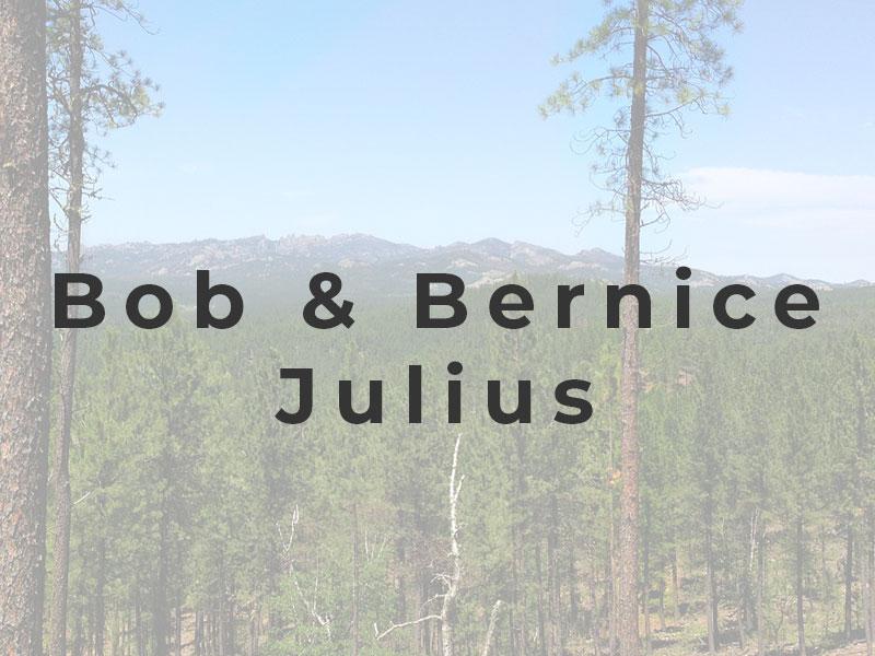 bob bernice julius