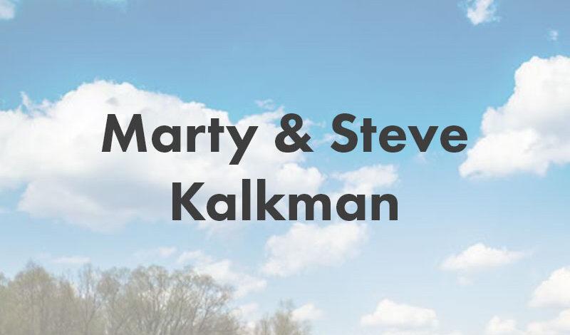 marty & steve kalkman